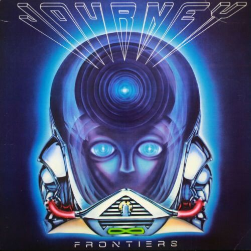 JOURNEY Frontiers BANNER HUGE 4X4 Ft Fabric Poster Tapestry Flag album cover art