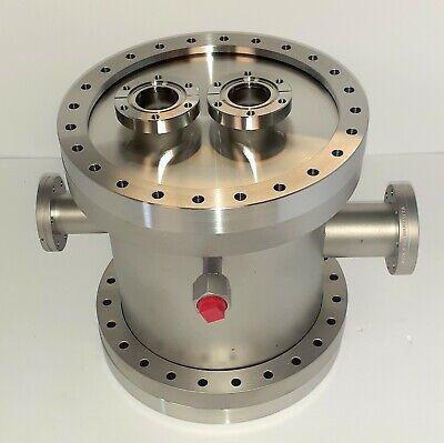Protoflex Ultra High Vacuum Uhv Chamber Ss304 Standard Conflat Cf Flanges