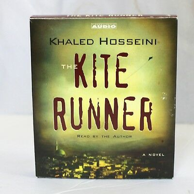 Khaled Hosseini The Kite Runner Audio Book Read By Author 5 CD