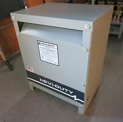 Hevi Duty 20 Kva 460 Delta To 460y266 3ph Drive Isolation Transformer Dt651h20s