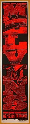 2004 The Melvins - Cleveland Silkscreen Concert Poster S/N by Mike Martin