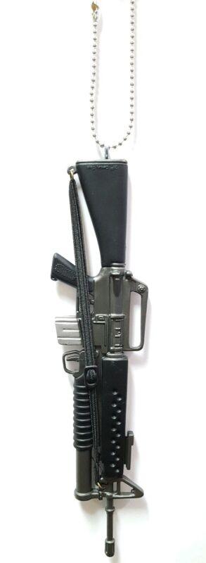 AR15 Rifle M16 Black Custom Gun Christmas Ornament M203 grenade launcher Vietnam