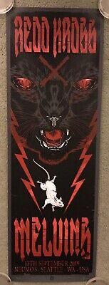 Melvins Red Kross Concert Show Seattle Wa 2019art Print Poster Mondo Rhys Cooper