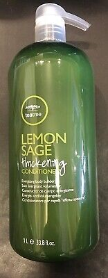 One (1) Paul Mitchell Tea tree Lemon Sage Conditioner 33.8oz Each *FreefastShip Paul Mitchell Lemon Sage