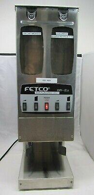 Fetco Gr2.2 Dual Hopper Portion Control Grinder