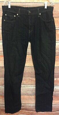 Levi's Men's 511 Straight Leg Dark Denim Jeans size 33 x 32