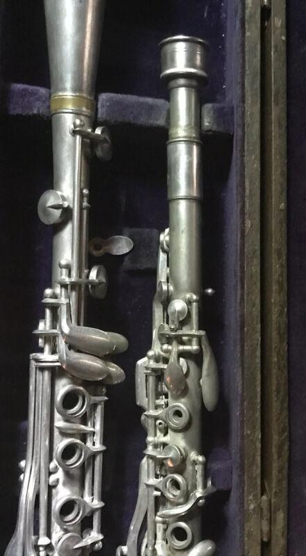 3 Piece Metal Bb Soprano Clarinet
