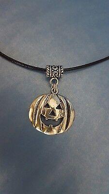 Nein Danke Halloween (Kette Halloween Jack O Lantern Kürbis Horror Samhain Erntedank Grusel Gothic Goa)