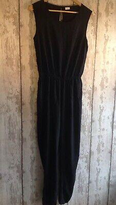 Jacqueline De Yong Black Sleeveless Jumpsuit Size 12