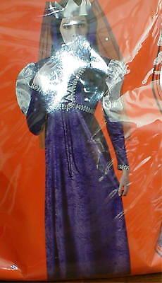 Adult Female Renaissance Queen Costume size L 12-14