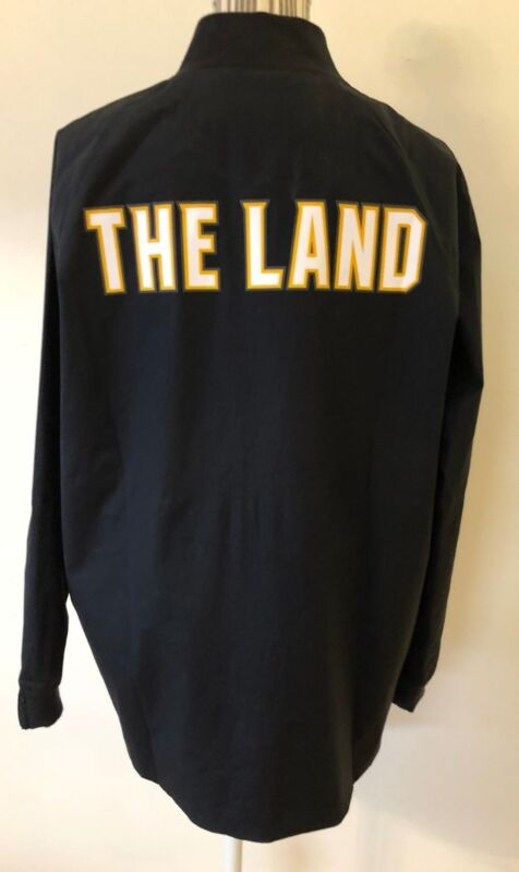 NWT Women NIKE NBA Cleveland Cavaliers Modern Varsity Jacket SZ S