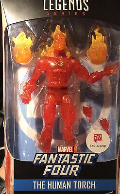 Marvel Legends Human Torch, Fantastic 4, Storm, Walgreens Exclusive, Open Box