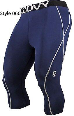 066 Navy 3/4 Long Pant