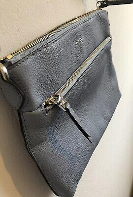 KateSpade New York Polly Leather Bag, light blue Defect: Lost Metal Handle Loop