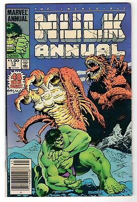 The Incredible Hulk Annual 13 - Marvel 1984 - F