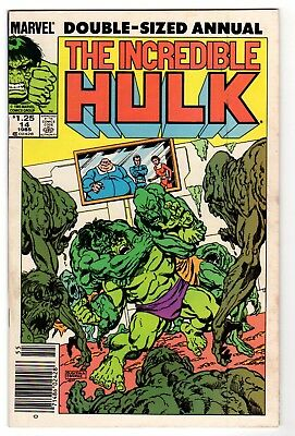 The Incredible Hulk Annual 14 - Marvel 1985 - F/VF