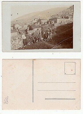 Makedonija,Veles im 1.Weltkrieg Soldat des Füsilier Reg.122,Germany RPPC 1916