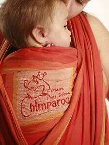 Chimperoo Woven Wrap Baby Carrier
