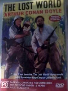 The Lost World Arthur Conan Doyle (1925) DVD Petersham Marrickville Area Preview