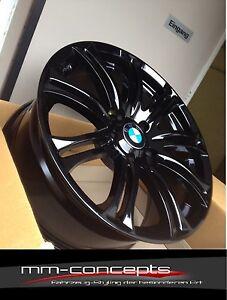 18 Zoll Wheelworld WH23 Alu Felgen 5x120 schwarz für BMW M Paket 5er E60 E61 Neu