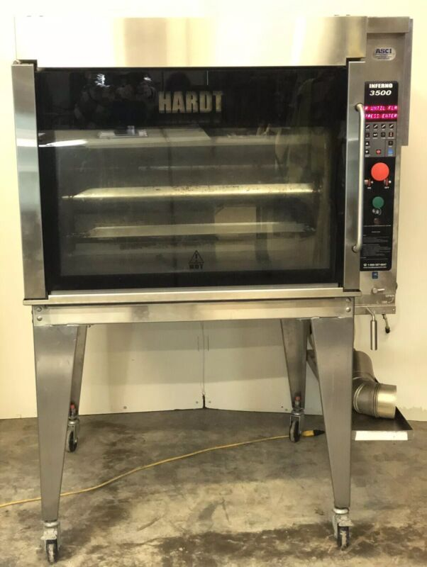 HARDT INFERNO 3500 Rotisserie Oven With 8 Skewer