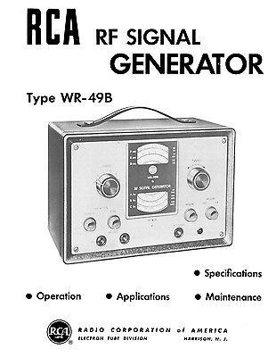 Rca Wr-49b Rf Signal Generator Manual