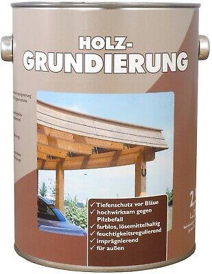 Lack Farblos Holz (2,5 Liter Wilckens Holz Grundierung Imprägnierung Bläueschutz farblos 5,95€/L)