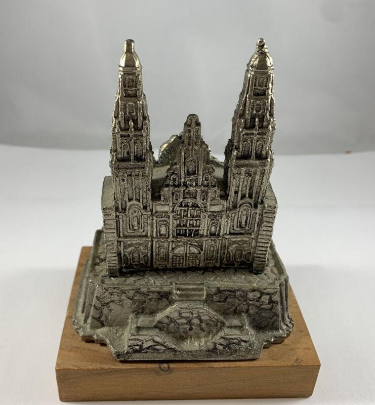 Scarce Santiago de Compostela Cathedral Spain Souvenir Building