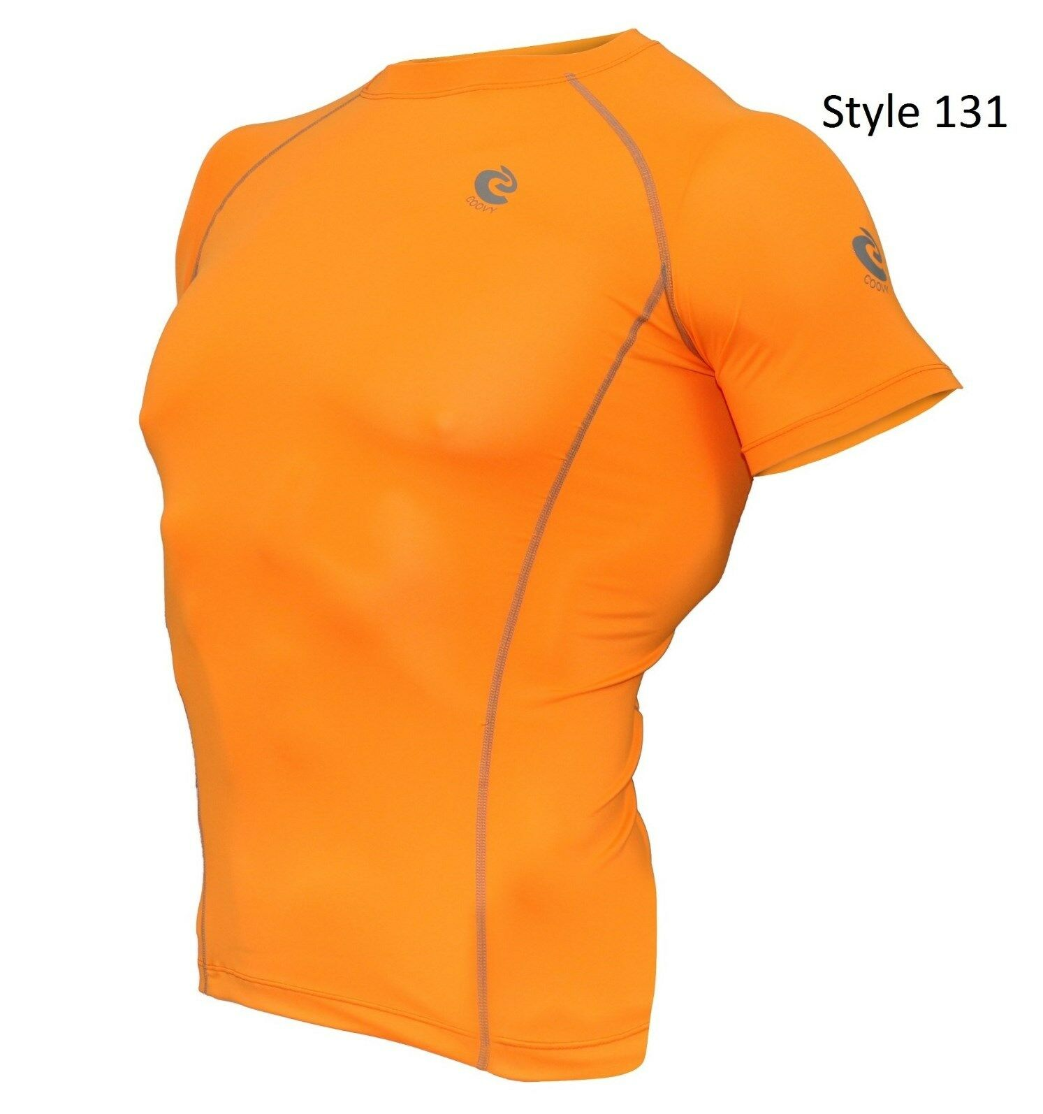 131 Orange Short Sleeve Shirt