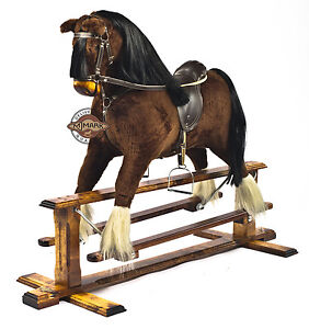 Beautifully handmade rocking horse MARS IV  MJMARK BRAND NEW