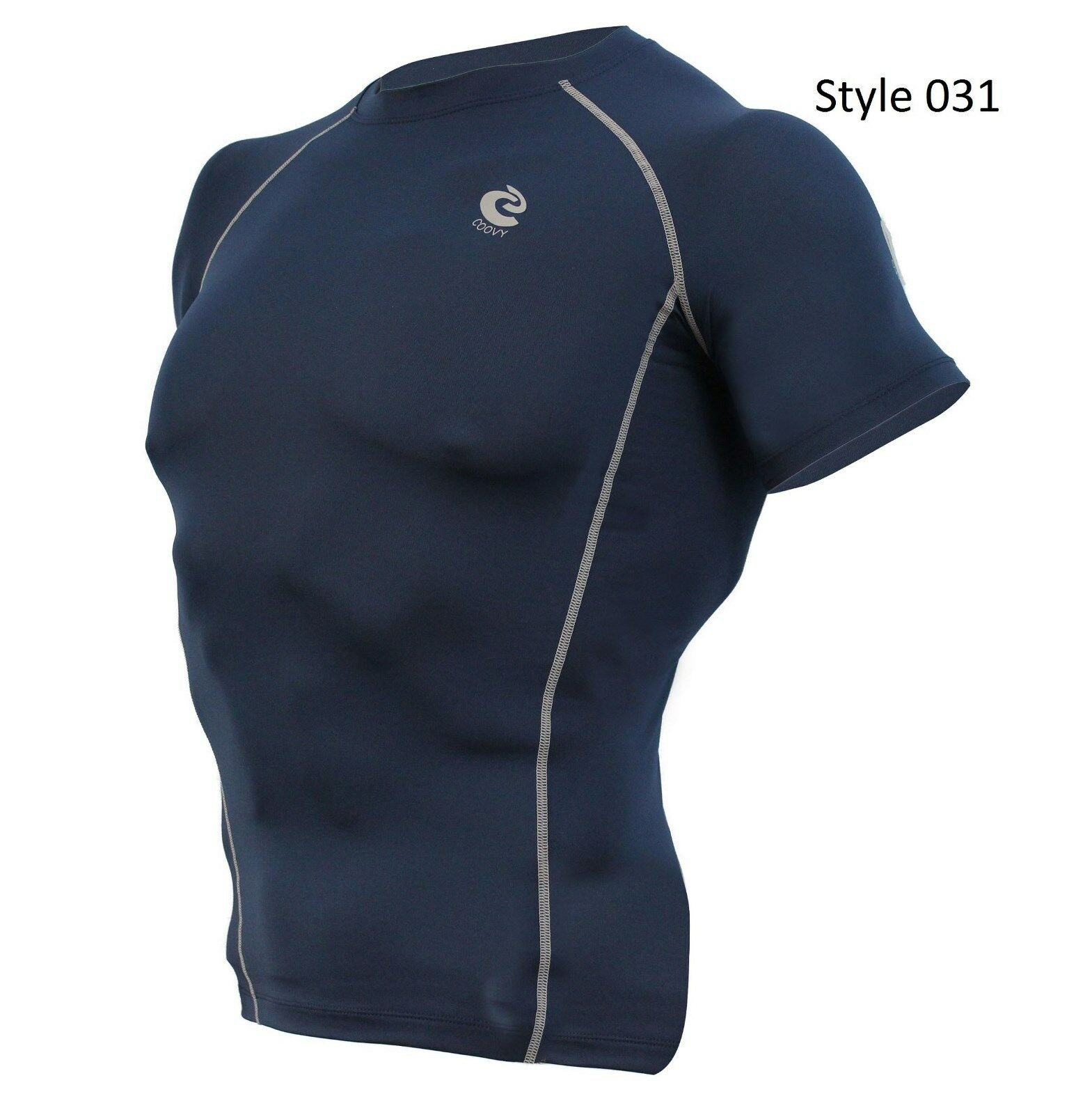 031 Navy Short Sleeve Shirt