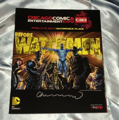 2012 C2E2 CONVENTION GUIDE~WATCHMEN~LEE BERMEJO COVER~HAND-SIGNED BY BERMEJO~