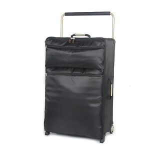 IT Luggage Black 84cm/30