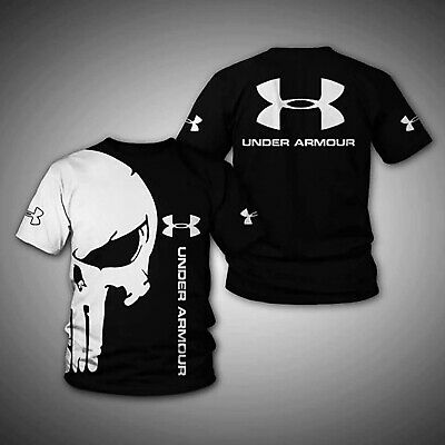 The Punisher Woman (The Punisher Under Armour New Full All Over Print 3d Tshirt Size)