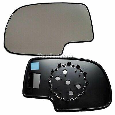 99-06 CHEVY SILVERADO PU TRUCK  Non-Heated DOOR MIRROR GLASS Driver Side LEFT 1999 99 Chevy Silverado Mirror