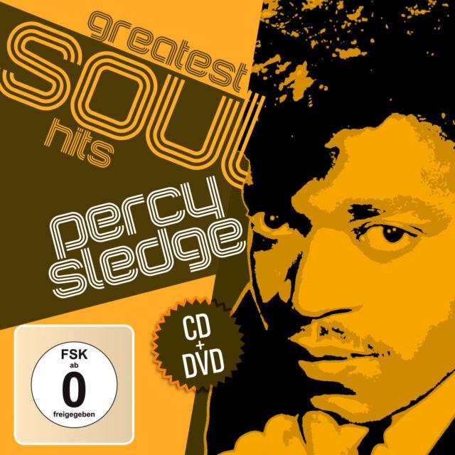 CD DVD Percy Sledge Greatest Soul Hits  CD und DVD Set
