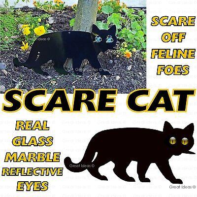SCARE CAT Garden Scarer Stop Pest Control Deterrent Repel Get Rid Scarecrow