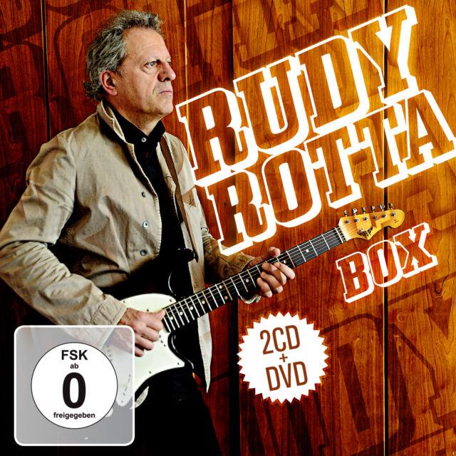 CD DVD The Rudy Rotta Box    2CDs und DVD Best Of Blues Rock