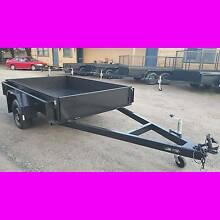 8x5 BOX TRAILER EXTRA HEAVY DUTY 1 PIECE FOLD FULL CHECKER PLATE South Windsor Hawkesbury Area Preview