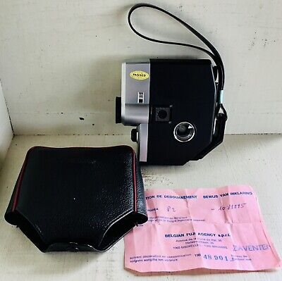 FUJICA Single 8 P2 film camera + protection wallet + original paper