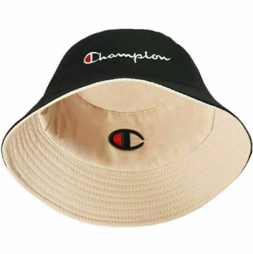 Men Women Reversible Champion Bucket Hat Summer Fishing Hat Hunting Camping Hat