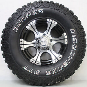 16 inch Genuine GECCO 4WD alloy wheels fitted with COOPERS  MUD TRAIN 4X4 TYRES