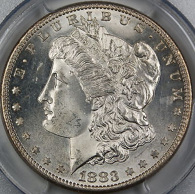 Click now to see the BUY IT NOW Price! 1883 S MORGAN SILVER DOLLAR PCGS MS 62 VERY CHOICE BU COIN