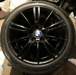 Bmw Authentic mags / rims  with 4 summer tires runflat
