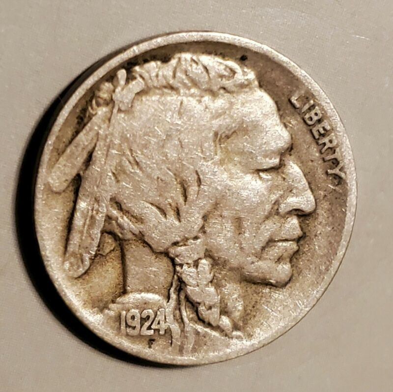 1924-D Buffalo Nickel in Very Good Condition and at a Bargain Price!
