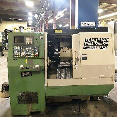 Hardinge Conquest T42sp Cnc Turning Center