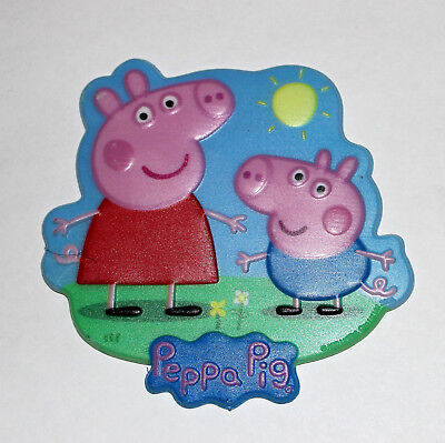 Peppa Pig Cake Topper (PEPPA PIG KIDS LAYON  BIRTHDAY PARTY TOPPER DECORATION)