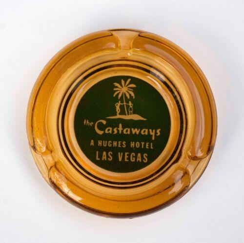 Castaways vintage glass casino ashtray