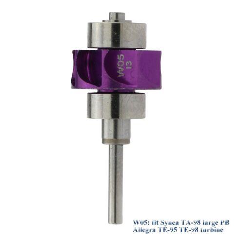 COXO Dental Handpiece Turbine Cartridge Air Rotor W05 fit Synea TA-98 TE-95