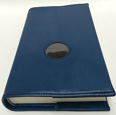 AA Big Book Blue Leather Book Cover with Chip Holder for sale  Mayfield